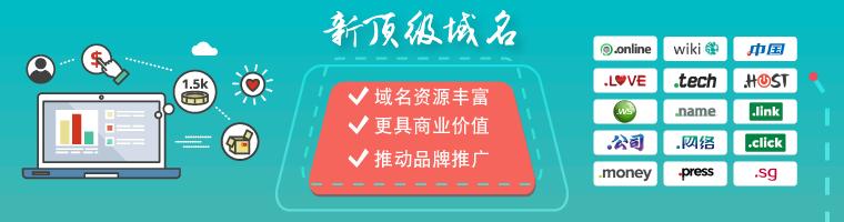 .wang專為華人定制的新頂級域名